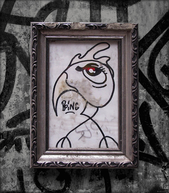 framed street art #2