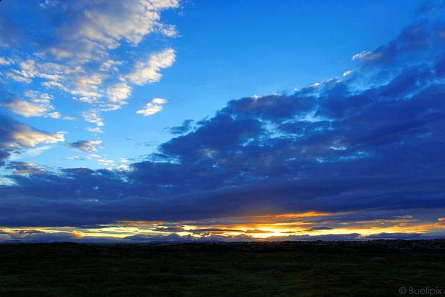 beinahe ein Sonnenuntergang ... (© Buelipix)