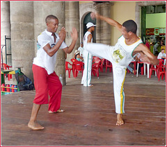 Salvador de Bahia - Capoeira il ballo esclusivo di Bahia