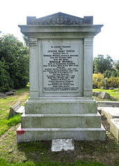 Grave of R. S. McColl, Footballer and Newsagent