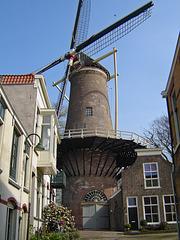Nederland - Gouda, Molen 't Slot