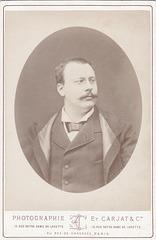 Eugène Lorrain by Carjat