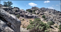 La Sierra de La Cabrera on a scorching late August day