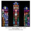 Lewes + Saint Pancras + The Crucifixion + studio Harry Clarke