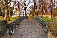 Mirow, Brücke zur Liebesinsel ... HFF !