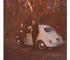 My first car,  1961 VW