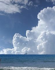 La tête dans les nuages...