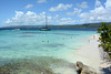 Dominican Republic, The Beach of Cayo Levantado on Bacardi Island