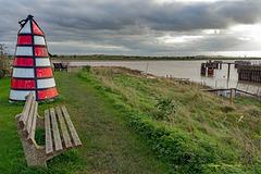 Wooden marker Buoy