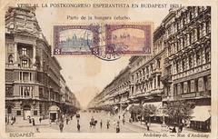 BK Budapeŝto - Andrássy strato 1921
