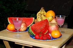 Fruit in the garden