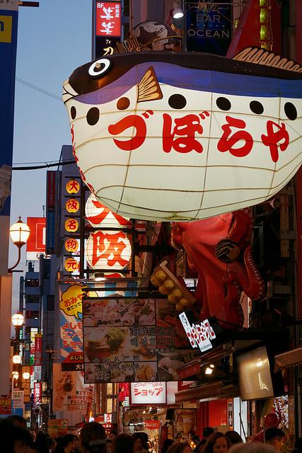 Fin de journée à Osaka (7)