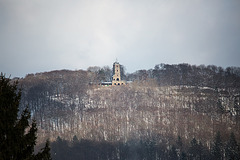 20150204 6792VRTw [D~SHG] Klippenturm, Wesergebirge, Rinteln