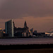 Liverpool in the evening