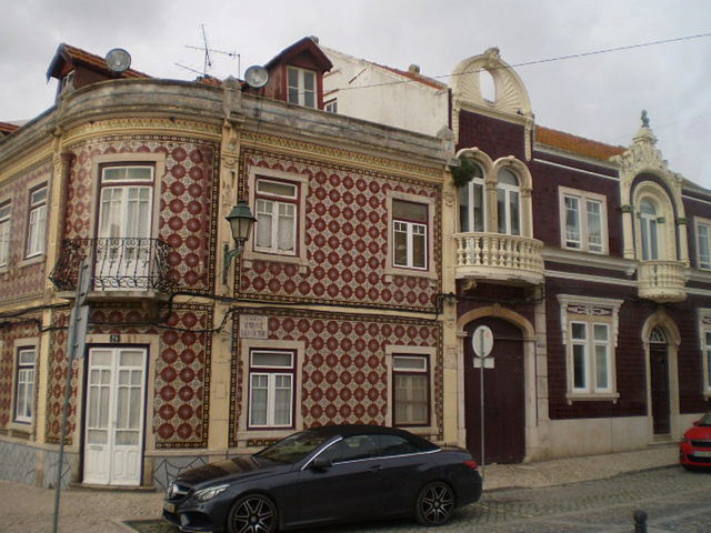 Typical houses.