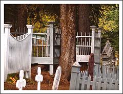 Graveyard in Barkerville, BC
