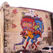 Warping mural.