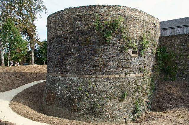 Tower fortifications at Dol de Bretagne