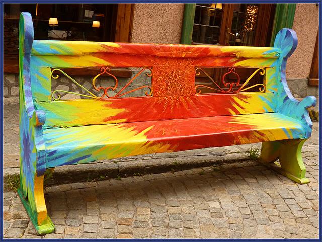 Bardonecchia : la panchina del buonumore - (794)