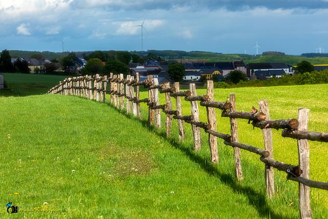 Une clôture sans fin