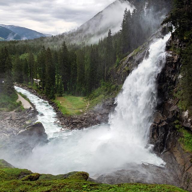 Krimml Falls, Lowest Cascade
