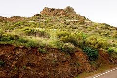 Auffahrt hoch ins Teno-Gebirge. ©UdoSm