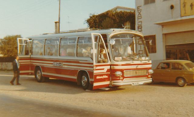 Autocares Palma coach - Nov 1970
