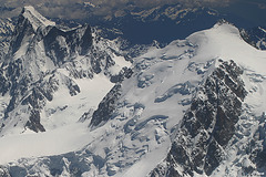 Grandes Jorasses et Mt Maudit