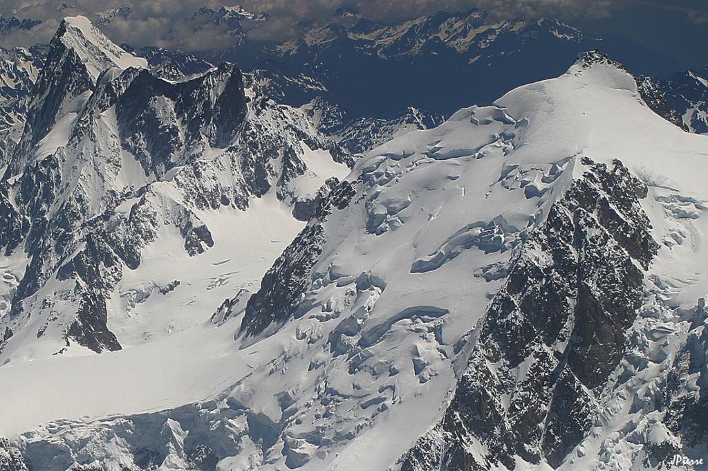 Grandes Jorasses et Mt Maudit