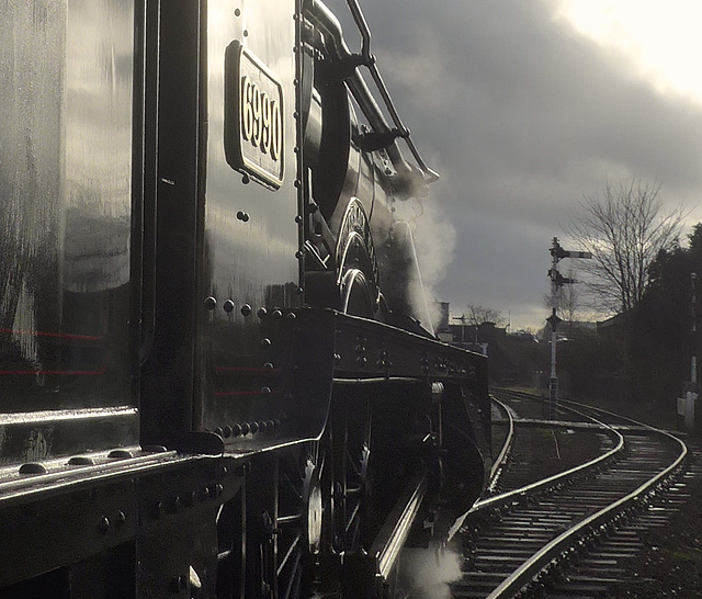 Great Central Railway Loughborough 9th January 2016