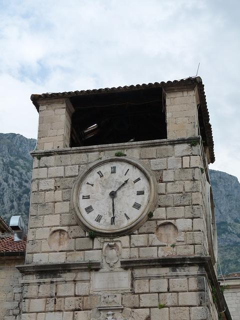 Kotor- 16th Century Clocktower