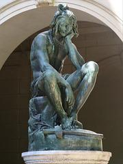 Chactas méditant sur le corps d'Atala (1835), Musée des Beaux-Arts, Lyon (France)