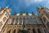 Court of Hamburg's City Hall With Hygieia Fountain - Rathaushof mit Hygieia Brunnen (060°)