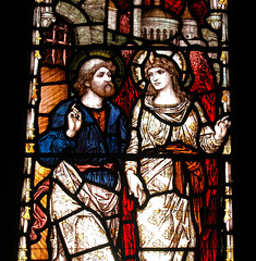 Stained Glass Memorial Window, St Peter's Church, Falstone, Northumberland