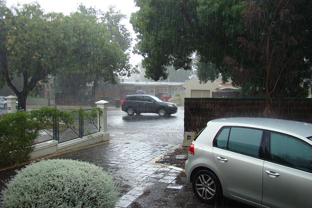 Rain at last