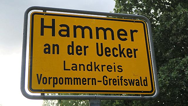Hammer an der Uecker