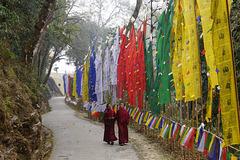 Buddhists in Samdruptse