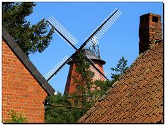 Windmühle   Dachlandschaft
