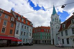 kreuz und quer durch die Altstadt von Riga (© Buelipix)