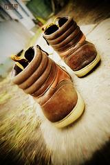 забытые ботинки
