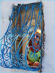 Tunisi : La tipica finestra tunisina