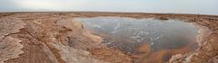 Ethiopia, Danakil Depression, The Gaet'ale Pond