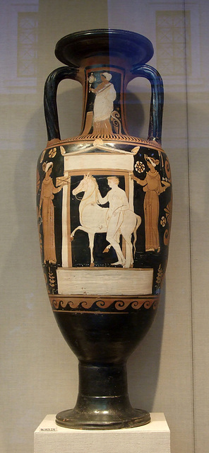 South Italian Neck-Amphora Attributed to the APZ Painter in the Metropolitan Museum of Art, January 2012