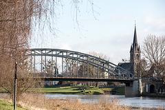 20150204 6796VRTw [D~SHG] Brücke, Weser, Rinteln