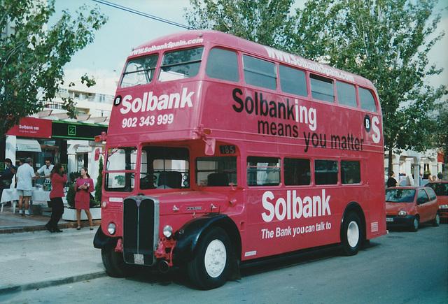 Solbank RT double decker - 30 Oct 2000