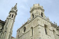 Mosteiro dos Jeronimos (monastère des Hiéronymites), quartier de Bélem, Lisbonne (Portugal)