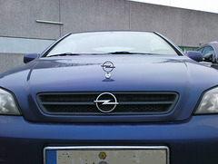 Opel Astra - keine Fotomontage!