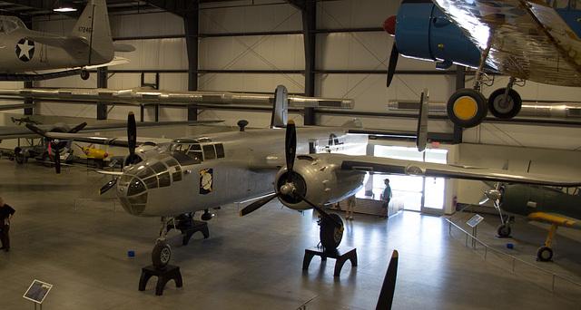 Pima Air Museum B-25 (# 0674)