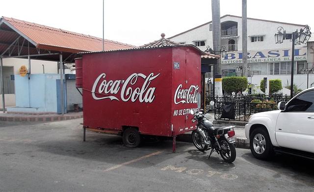 Coca-cola no se estasione