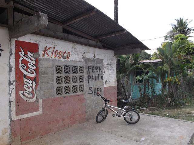 Kiosko Coca-cola
